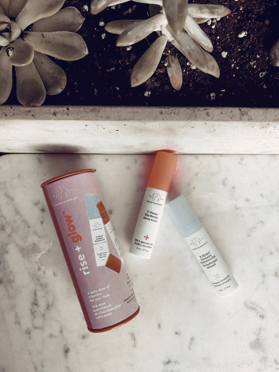 Drunk Elephant Rise + Glow Duo The Rundown