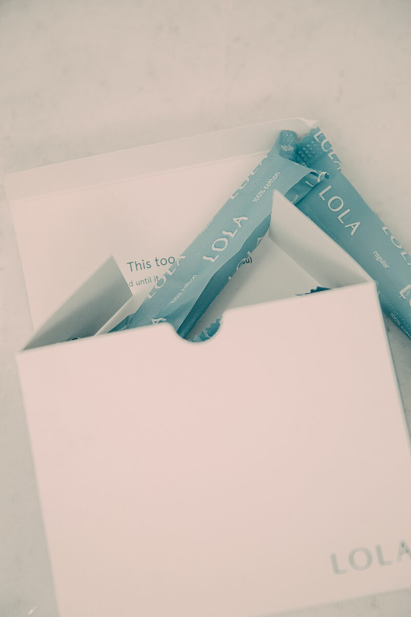 LOLA Organic Tampons and Pads Review