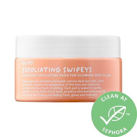 prep your skin for fall go to exfoliating swipeys