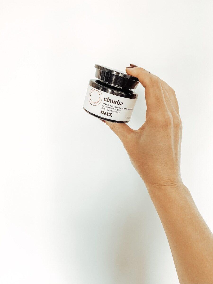 Mxt Balancing Overnight Recovery Cream